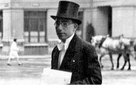 Abdol-Hossein-Sardari era un joven diplomático iraní en 1940.