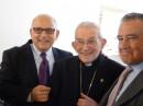 Danny Rainer, Mons Capovilla y Eduardo Eurnekian.