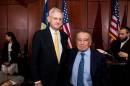 Eduardo Eurnekian y Carl Bildt