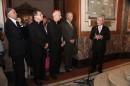 Rabino Sergio Bergman, R.P. Fernando Gianetti, Arzobispo Mario Poli, Baruj Tenembaum y Marcos Aguinis.