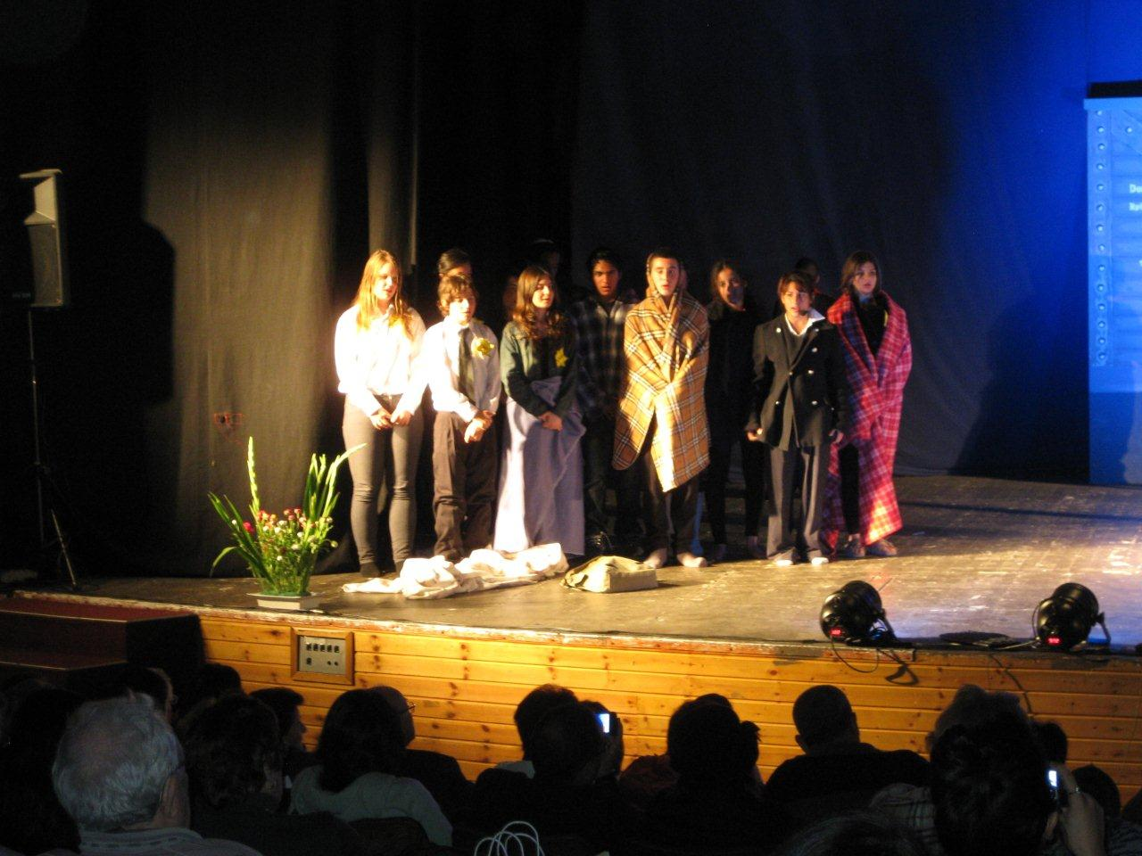 Presentaci n en jerusalem de la obra de teatro coraz n de for La cocina obra de teatro