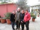 con Elisabeth Hernández y David Szapiro de la Fundación Rothchild