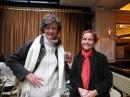 con Louise Dardel