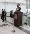 A bust of  Raoul Wallenberg was installed in Argentina's main international airport.