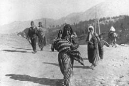 Refugiados armenios.
