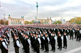 Members of the Hungarian Guard