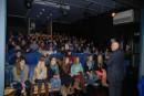 La audiencia fue cautivada por la historia de Raoul Wallenberg.