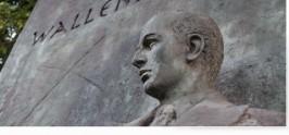 Monumento a Raoul Wallenberg en la ciudad de Buenos Aires.