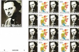Sello Postal de Franz Werfel.